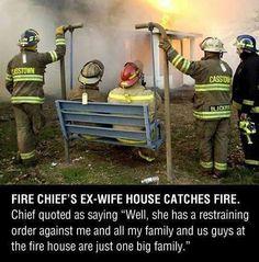 Firemen Doing Their Work http://ibeebz.com