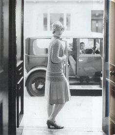 "by the Mattita fashion house, 1920s // from the book ""Decades of Fashion"""