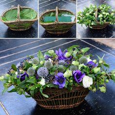Fiori Floral Centrepieces, Floral Arrangements, Centerpieces, Ikebana, Flower Art, Bouquets, Succulents, Floral Design, Purple