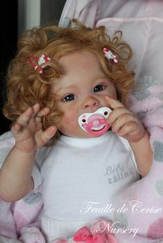 JORDYN sculpted by Laura Tuzio Ross, reborned by Sylvie @ syblcreations, Feuille de Cerise Nursery