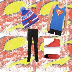"""""""Spiderman"""" by lilmissolivia ❤ liked on Polyvore"""