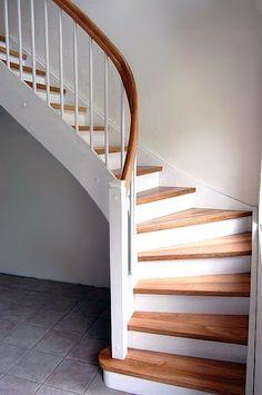 schody drewniane zabiegowe nowoczesne - Szukaj w Google