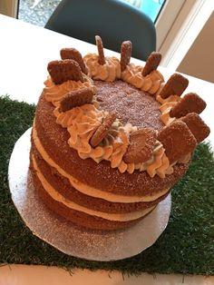 Zoella's Lotus Biscoff Cake