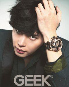 Lee Jong Suk - Geek Magazine December Issue '13