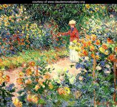 Monet's Garden at Giverny - Claude Oscar Monet - www.claudemonetgallery.org