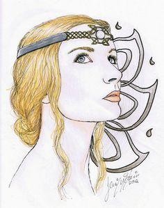 White lady by silamir deviantart.com