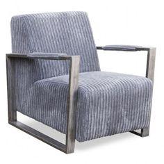 Stoere fauteuil met een lekkere zit