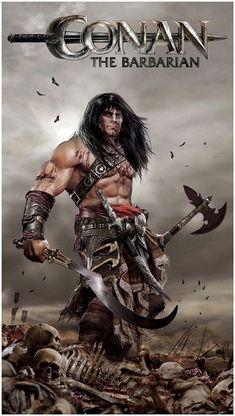 Salvajes ilustraciones de Conan el Bárbaro - Taringa!