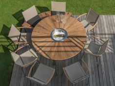 O-ZON Table de jardin by ROYAL BOTANIA design Kris Van Puyvelde ...