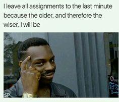 Meme - Procrastination