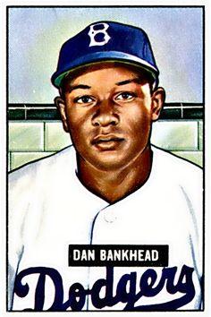 225 - Dan Bankhead RC - Brooklyn Dodgers