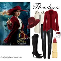 Theodora, created by sad-samantha on Polyvore (minus the hat and disliking this movie, it's a cute outfit)