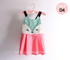 Girl's  dress/ Kid's sewing pattern pdf/Toddler/