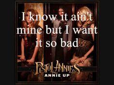 Pistol Annies - I Feel A Sin Comin' On [Lyrics On Screen]~ For Little Miss Martha!! Weeeeeeeee!!