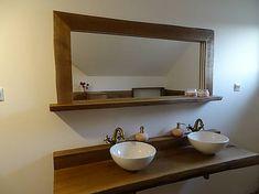 drevita / Dubové zrkadlo Led, Living Room, Mirror, Bathroom, Frame, Furniture, Home Decor, Washroom, Picture Frame