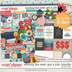 Leaving The Nest: Get A Job Bundle by Traci Reed