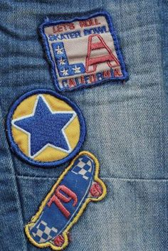 Buy Mid Blue Badge Jeans (3mths-6yrs) from the Next UK online shop
