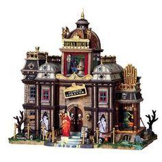 Phantom's Opera House--Lemax Halloween Queen, Halloween Village, Halloween Party Decor, Halloween House, Halloween Ideas, Halloween Designs, Halloween Stuff, Vintage Halloween, Halloween Crafts
