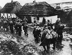 1. Weltkrieg, Vormarsch der österreichische-ungarischen Truppen in der Ukraine.#sturzdertitanen