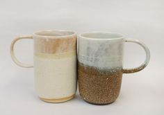 mugs galore! perfect for winter hot chocolate or hot toddies. American made ceramics on The MiA Project