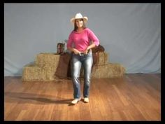 Learn how to line dance - Copperhead Road Line Dance - YouTube