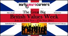 The Great Big British Values Week 2015