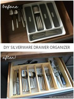 organize those messy kitchen drawers for 10, kitchen design, organizing, storage ideas, woodworking projects
