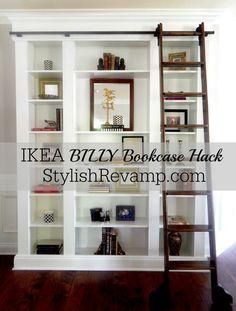IKEA BILLY Bookcase Hack 1