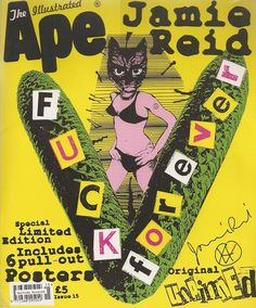 2003 Jamie Reid 'The Illustrated Ape' Limited Edition Magazine/Booklet includes 6 pull-out posters