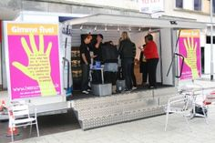 Roadshow Trailer hire for Brand Awareness & Public Consultations Small Company, How To Introduce Yourself, Public, The Unit