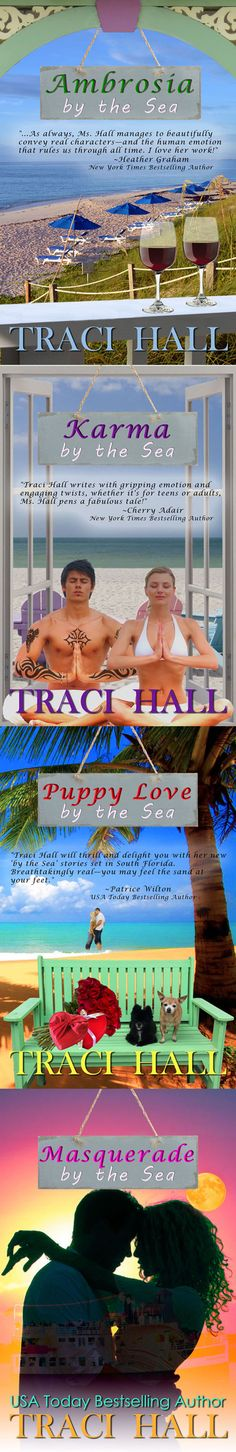 Ready for romance by the sea? USA Today Bestselling author, Traci Hall has the perfect series for you. ReadByTheSea.com