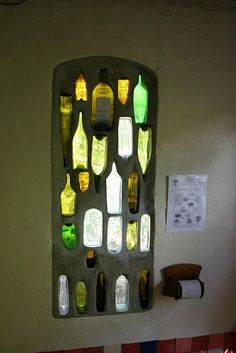 so many things you can do with wine bottles...