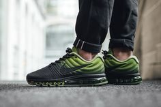 "Nike Air Max 2017 ""Black/Palm Green"" - EU Kicks Sneaker Magazine"