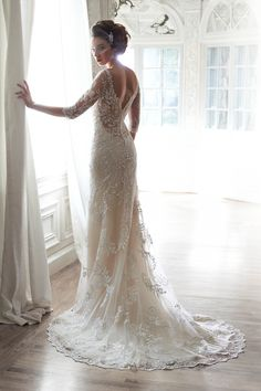 VerinaBack Lace wedding dress