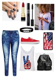 """Untitled #125"" by darrionne-r-adams ❤ liked on Polyvore featuring uroda, City Chic, Vans, Coach, Dolce&Gabbana, alfa.K i Christian Dior"