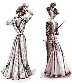 CONSUELITO Y OTRAS BELLAS DEL CUPLÉ: La moda en 1890