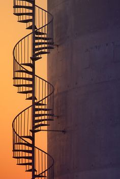 Industrial Detail at Sunset by Vincent James
