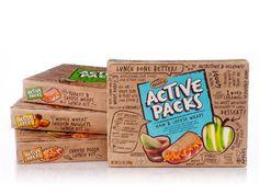 Active Packs - fun kid-packaging
