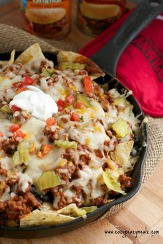 Easy, breezy, super-cheezy: These nachos take supreme to the next level.  Get the recipe from Eazy Peazy Meals.   - Delish.com