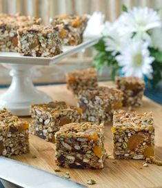 Gluten Free Nut Free Cereal Squares Recipe - Dairy & Sugar Free too!