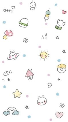 Cute Pastel Wallpaper, Cool Wallpaper, Iphone Wallpaper, Kawaii Wallpaper, Cellphone Wallpaper,