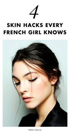 4 Genius Skincare Hacks Every French Woman Knows is part of French skin care - These French skincare hacks are simple, quick, and effective, which is why every woman should know them Skin Tips, Skin Care Tips, Beauty Skin, Hair Beauty, French Makeup, Style Français, French Beauty Secrets, French Skincare, Nuxe