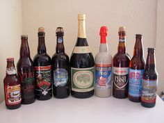 Host a Winter Beer Tasting Party. Beer names include: Celebration Ale, Yulesmith, St. Bernardus Christmas Ale, Gouden Carolus Noel, Anchor Steam Special Christmas Ale, Delirium Noel, Noel, White Christmas, and Old Jubilation Ale. Fun!