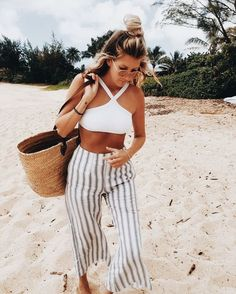 10 modern beach outfits you should wear in 2018 – Cute Outfits – - Sommer Kleider Ideen Tropical Vacation Outfits, Cute Vacation Outfits, Mexico Vacation Outfits, Outfits For Mexico, Beach Party Outfits, Cool Summer Outfits, Cruise Outfits, Summer Dresses, Outfit Beach