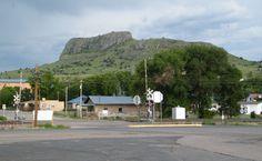 Wagon Mound, where my dad grew up.