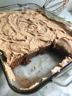 Fudgy Chocolate Malt Brownies with Espresso Chocolate Buttercream Chocolate Malt, Chocolate Morsels, Chocolate Brownies, Chocolate Recipes, Edible Magazine, Delicious Desserts, Dessert Recipes, Chocolate Buttercream, Brownie Bar