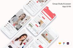 Group Study, Ui Kit, App Ui, Wordpress