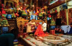 Malte Blas explores the pre-modern influence of ancient worship that is still practiced today in Northern Vietnam. The tradition of ritual possession, known as len ...
