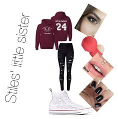 #littlesis by ethan-s-queen on Polyvore featuring polyvore fashion style WithChic Converse Eos clothing