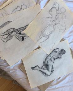 "24 Likes, 3 Comments - Jordan Joseph (@jordanjosephart) on Instagram: ""looking through the past #sketch #graphite #charcoal #figuredrawing #art #artist"""